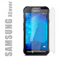 Protection d'écran en verre trempé pour smartphone Samsung Xcover