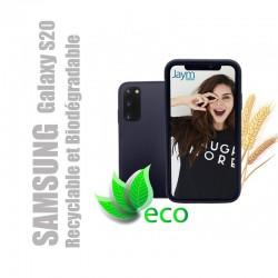 Coque souple 100% Biodégradable et recyclable pour Samsung Galaxy S20 - Noire