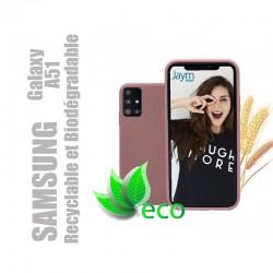 Coque souple 100% Biodégradable et recyclable pour Samsung Galaxy A51 - Rose