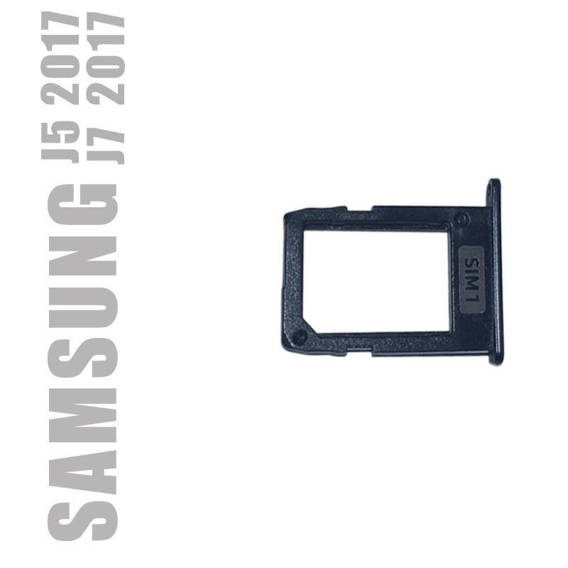 Tiroir sim n°1 pour Samsung Galaxy J5 et J7 2017
