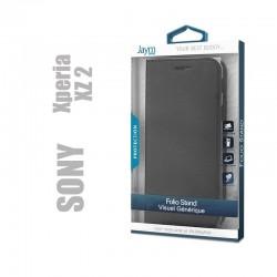 Etui clapet porte feuille compatible Sony Xperia XZ2