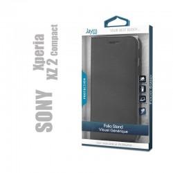 Etui clapet porte feuille compatible Sony Xperia XZ2 compact