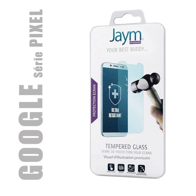 Protection d'écran en verre trempé qualité Premium pour GOOGLE série PIXEL