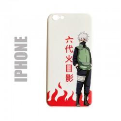 "Coque manga souple pour iphone, motif Naruto ""Kakashi Sensei"""