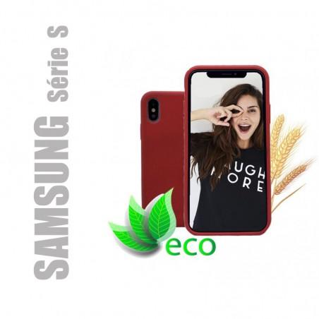 Coque téléphone 100 % recyclable et biodégradable pour Samsung Galaxy série S