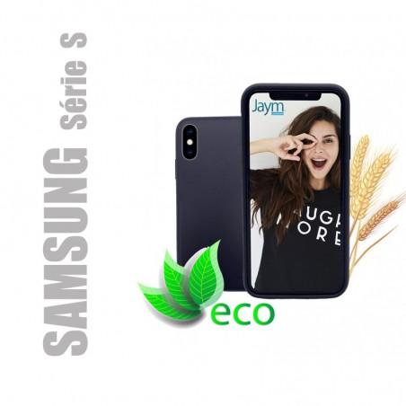 Coque souple 100% Biodégradable et recyclable pour Samsung Galaxy Série S - Noire