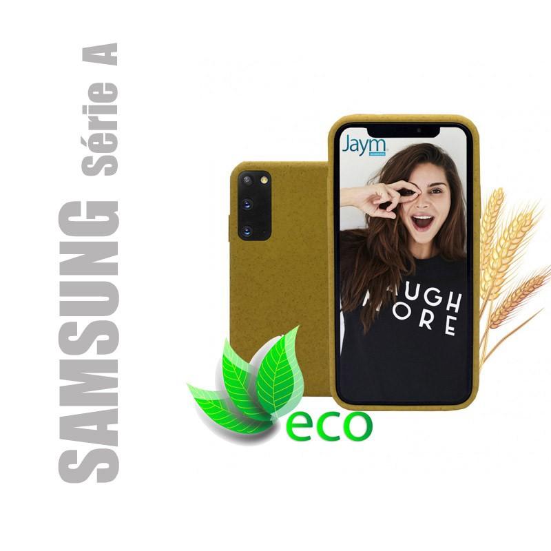 Coque souple 100% Biodégradable et recyclable pour Samsung Galaxy série A - Jaune