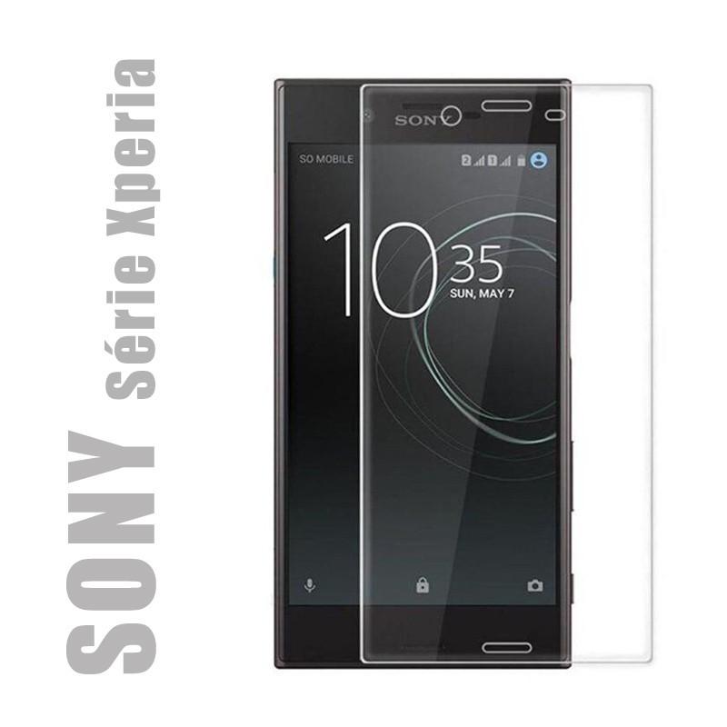 Protection d'écran en verre trempé pour smartphones SONY série Xperia