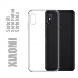 Coque souple en silicone transparent pour XIAOMI