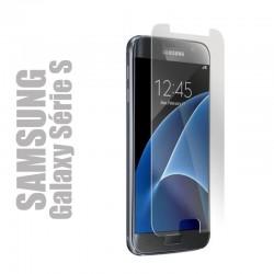 Protection d'écran en verre trempé pour smartphone Samsung Galaxy Série S