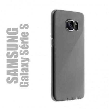 Coque de protection en gel silicone transparent pour Samsung Série S