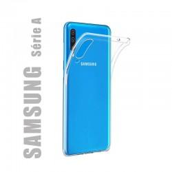 Coque de protection en gel silicone transparent pour Samsung Série A