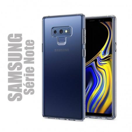 Coque de protection souple transparente pour samsung Galaxy Série Note