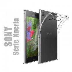 Coque souple en gel silicone transparent pour Smartphones Sony Xperia