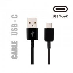 Cable de chargement et de transfert de données. Usb type C