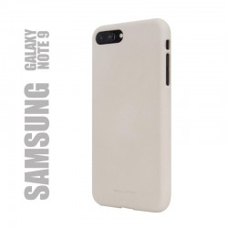 "Coque premium ""soft feeling"" pour Samsung Galaxy Note 9 - beige"