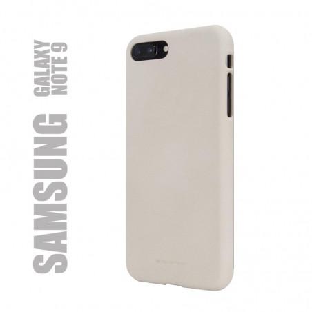 "Coque premium ""soft feeling"" pour Samsung Galaxy Note 9 - beige"