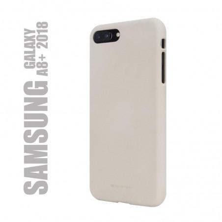 Coque de protection premium souple, soft feeling pour Samsung Galaxy A8 plus 2018 - A730