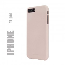 "Coque premium ""soft feeling"" pour iphone 11 / X / Xs - rose sable"