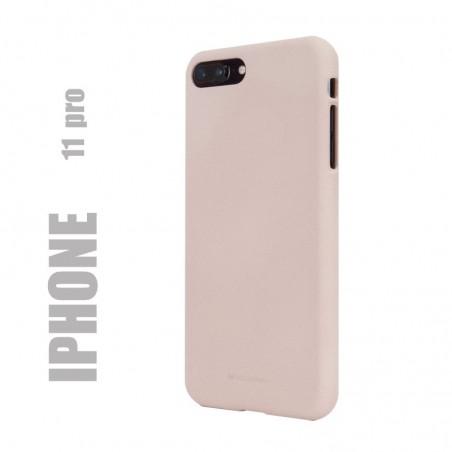 "Coque premium ""soft feeling"" pour iphone 11 / X / Xs - rose sable"