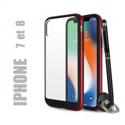 Coque rigide premium - X-Bumper rouge pour iphone 7 et 8