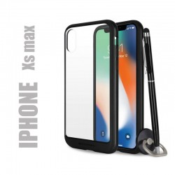 Coque rigide premium - X-Bumper noire pour iphone Xs max