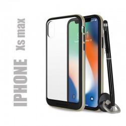 Coque rigide premium - X-Bumper or pour iphone Xs max