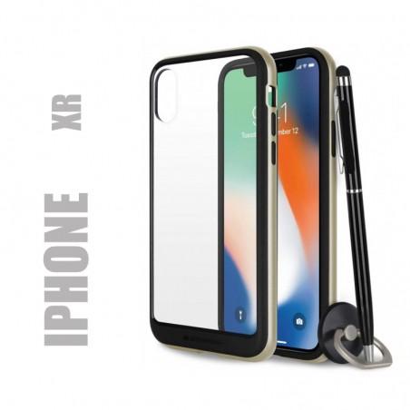 Coque rigide premium - X-Bumper or pour iphone Xr