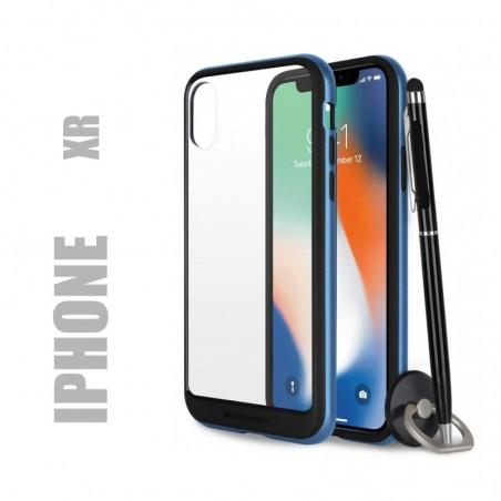 Coque rigide premium - X-Bumper bleu pour iphone Xr