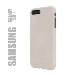 "Coque premium ""soft feeling"" pour Samsung Galaxy S9 plus - beige"