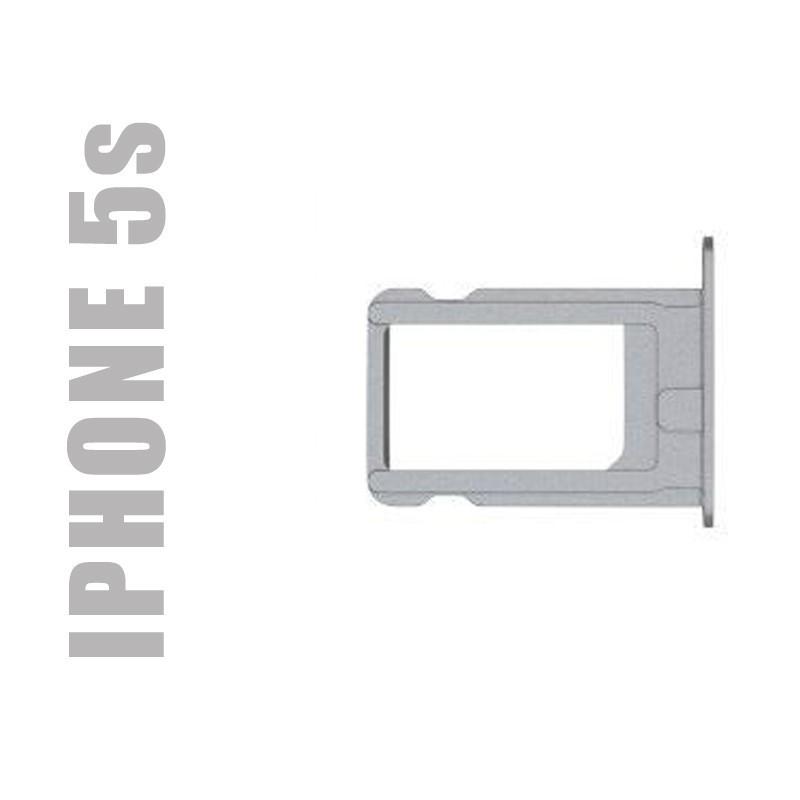 Tiroir sim de remplacement pour smartphone Apple iPhone 5s