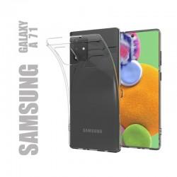 Coque de protection en gel silicone souple transparent pour Samsung Galaxy A71