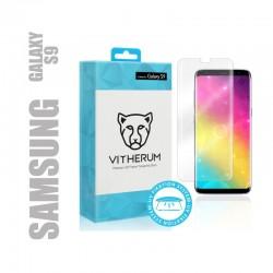 Protection d'écran en verre trempé collage UV pour smartphone Samsung Galaxy S9