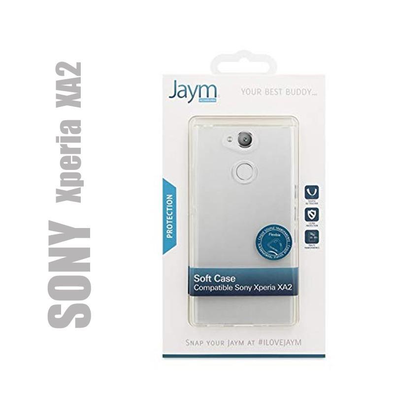 Coque souple transparente compatible avec SONY Xperia XA2