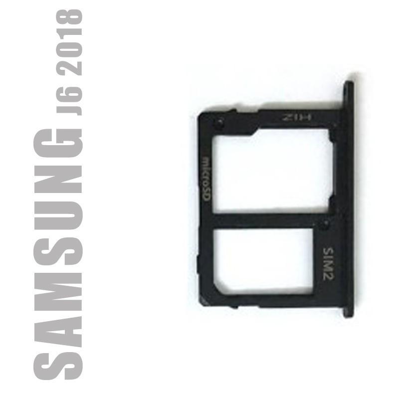 Tiroir Sim 2 et carte SD pour Samsung Galaxy J6 2018