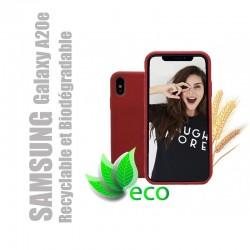 Coque téléphone 100 % recyclable et biodégradable pour Samsung Galaxy A20 e