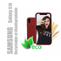 Coque téléphone 100 % recyclable et biodégradable pour Samsung Galaxy S10